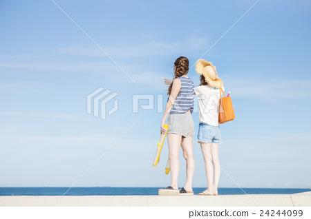 夏季女性的旅程 24244099