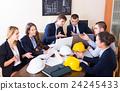 professionals having meeting indoors 24245433