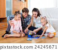 Family play at lotto game 24245671