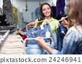 girl, buying, store 24246941