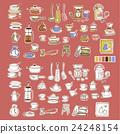 餐具 插畫 插圖 24248154