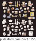餐具 插畫 插圖 24248155