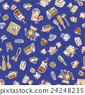 餐具 插畫 插圖 24248235