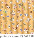 餐具 插畫 插圖 24248238