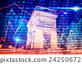 Composite image of stocks and shares 24250672