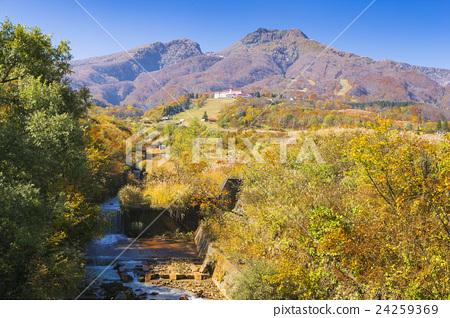 Myoko mountain in autumn 24259369