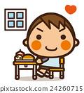 小學學生 小學生 男人 24260715