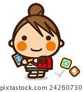 초등학생, 여자, 여성 24260730