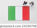 ธงอิตาลี 24260798