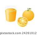 オレンジジュース 24261012