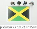 ธงประจำชาติของจาเมกา 24261549