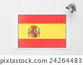 ธงสเปน 24264483