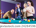 People playing billiard 24264596