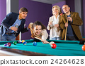 people having pool game 24264628