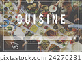 Cuisine Restrurant Kitchen Cafe Food Concept 24270281