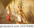 Traditional Aspara Dancers Cambodia Concept 24270680