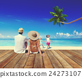 beach family ocean 24273107