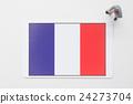 法國國旗 全球 商業 24273704