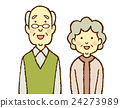 elderly, couple, old 24273989