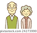 elderly, couple, old 24273990