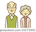 elderly, couple, old 24273991
