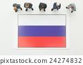 ธงรัสเซีย 24274832