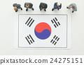 ธงชาติเกาหลี 24275151