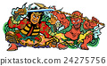 Nebuta Festival - White Background 24275756