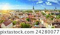 Sunny summer day in Tallinn, Estonia 24280077