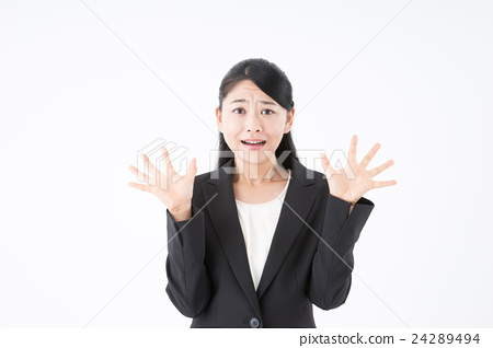 Business woman (surprised) 24289494