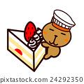 蛋糕 脆饼 草莓 24292350