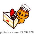 蛋糕 脆饼 草莓 24292370