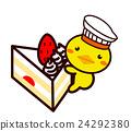 蛋糕 脆饼 草莓 24292380