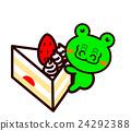 蛋糕 脆饼 草莓 24292388