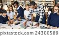 Education School Student Circuit Electricity Transistor Concept 24300589