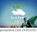 Save Earth Environmental Conservation Global Concept 24301291