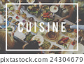 Cuisine Restrurant Kitchen Cafe Food Concept 24304679