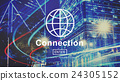 Connection Internet Technology Online Website Concept 24305152