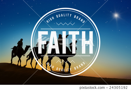 Faith Believe Belief Creed Hope Religion Loyalty Concept 24305192