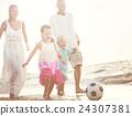 Summer Beach Family Fun Concept 24307381