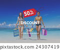 Discount Half Price Marketing Promotion Consumer Concept 24307419