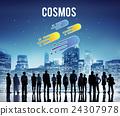 Cosmos Galaxy Astronomy Exploration Nebular Concept 24307978