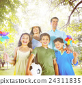 Family Happiness Parents Holiday Vacation Activity Concept 24311835