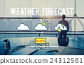 Weather Forecast Temperature Application Concept 24312561