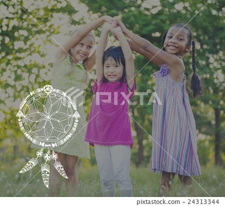 Dreams Catcher Indians Symbolic Sign Concept 24313344