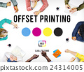 Printing Process Offset Ink Color Industry Media Concept 24314005