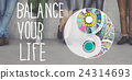 Balance Your Life Equality Steady Concept 24314693