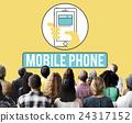 Mobile Phone Cellphone Cellular Communicate Concept 24317152