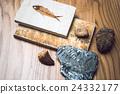化石 魚 收藏 24332177
