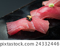 quality tuna, sushi, fat under-belly of tuna 24332446